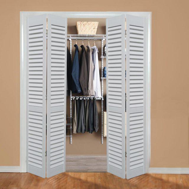 Closet Folding Door Images Doors Design Modern